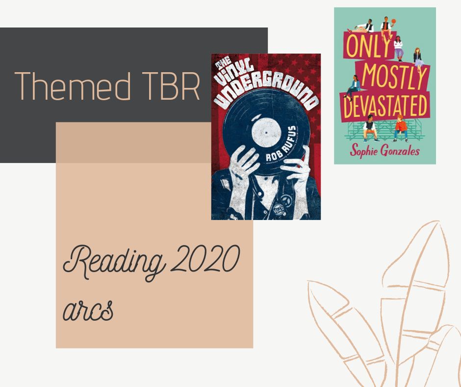 Blog post where I read three arcs of books that were published in 2020 and review them. Including Only Mostly Devasted by Sophie Gonzales and The Vinyl Underground by Rob Rufus.