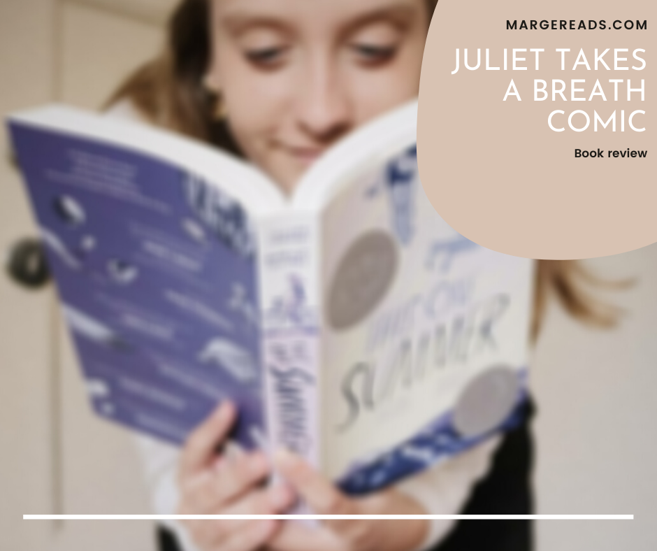 Book review of the Juliet Takes a Breath comic by Gabby Rivera.